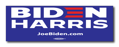 Biden Harris 2020 Blue Magnetic Bumper Sticker