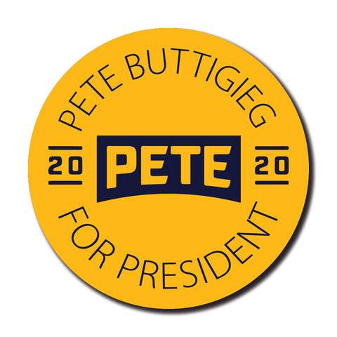 Pete Buttigieg for President Campaign Button 5-Pack