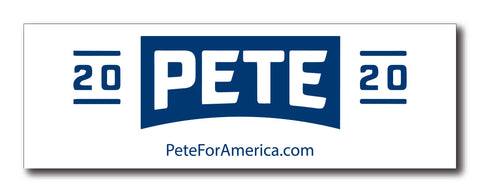 Pete 2020 Magnetic Bumper Sticker