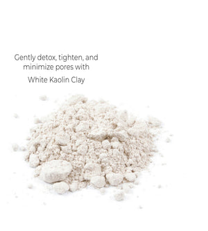 White Kaolin Clay Mask