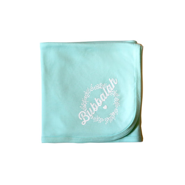 Bubbalah Mint Green Blanket