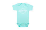Bubbalah Solid Mint Green Short Sleeve Onesie