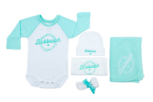 Bubbalah Mint Green Raglan