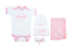 "Bubbalah Rose Petal ""Baby Basics"" Ringer Set"