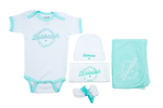 "NEW!! Bubbalah Mint Ringer ""Baby Basics"" Ringer Set"
