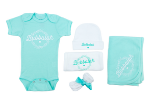 "NEW!! Mint Bubbalah ""Baby Basics"" set"