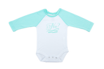 Nu? Mint Green Raglan Sleeve Onesie