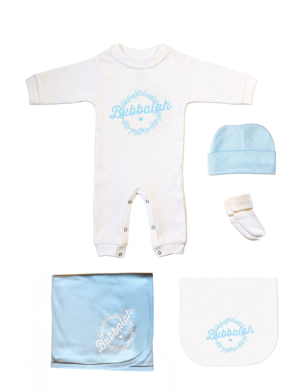 "Bubbalah Sky Blue ""Sleep + Play Today"" Set"