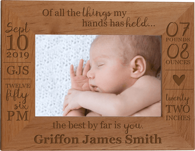 All The Things My Hands Have Held - Baby Photo Frame