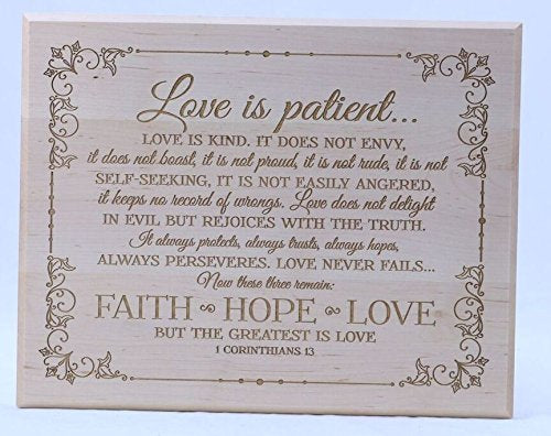 Wood Wall Plaque Gift