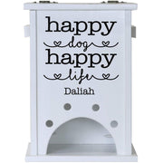 Personalized Pet Toy Storage Box - Happy Dog Happy Life