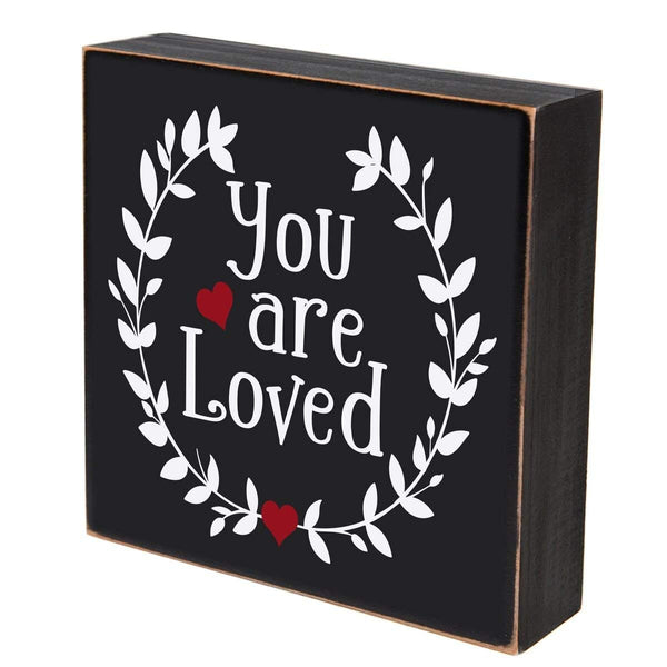 Digitally Printed Shadow Box Wall Decor - You Are Loved