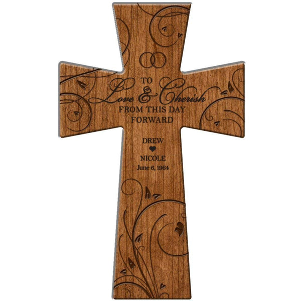 Personalized Wedding Wall Cross Gift