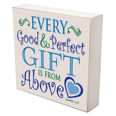 Every Good and Perfect gift is from above Christian wall art decor Print Decoration by LifeSong Milestones