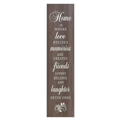 Home Is Where Love Resides Decorative Wall Art Sign