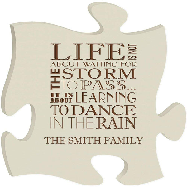 Personalized Family Puzzle Plaque Gift
