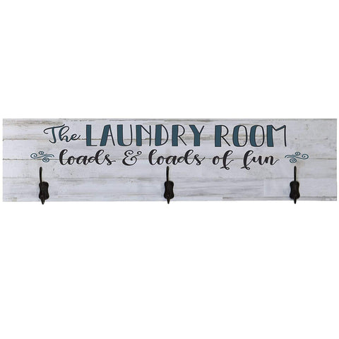 The Laundry Room Loads and Loads of Fun Coat Rack