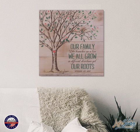 Pallet Art Family Home Decor Wall Plaque