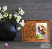 Personalized Pet Memorial Photo Frame
