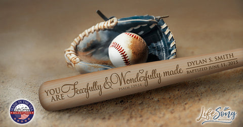 Personalized 1st Holy Communion Baseball Bat