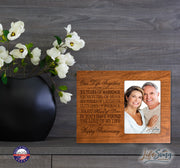 35th Anniversary Photo Frame - Our Life Together Cherry