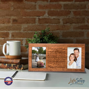 Personalized 5th Anniversary Double Photo Frame - Happy Anniversary