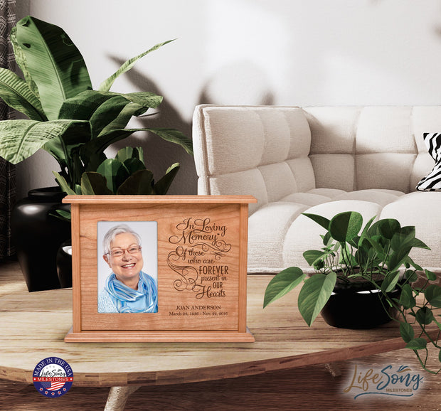 personalized urn human keepsake memorial adult children ashes