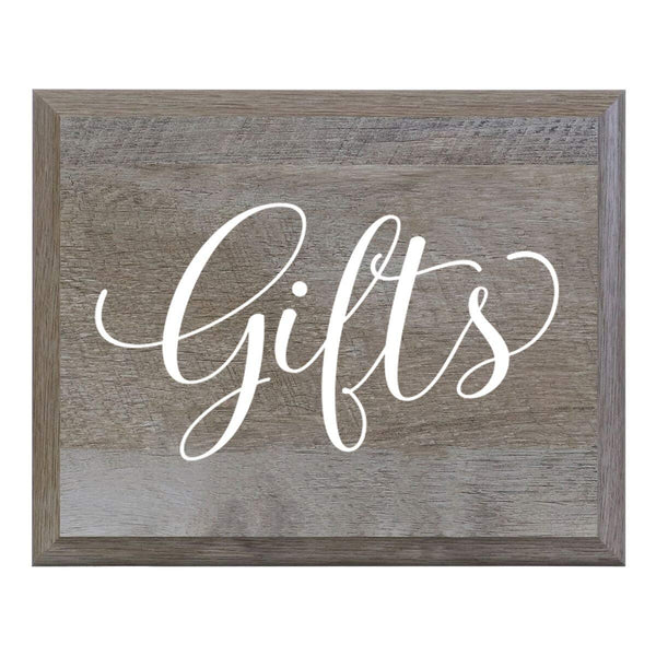 Decorative Gifts Wedding Party signs