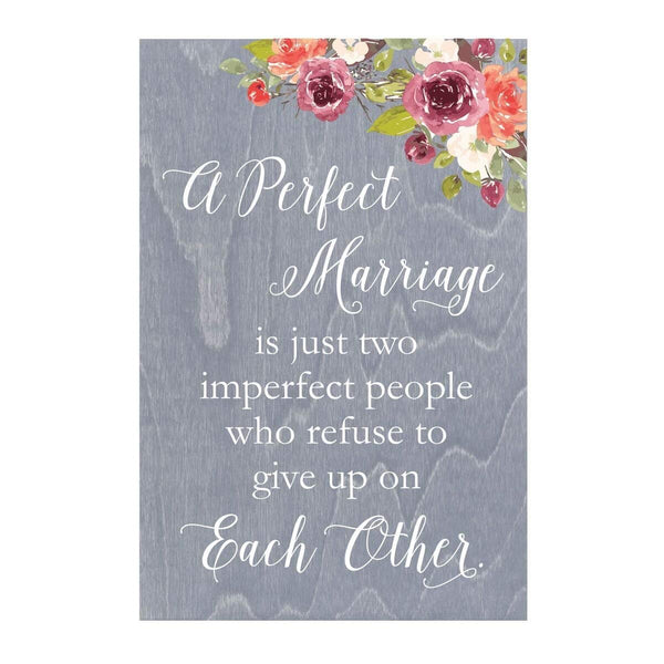 Personalized Marriage and Family Wall Plaque - A Perfect Marriage Collection