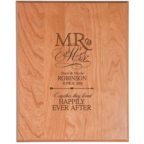 Personalized Wedding Plaque Sign
