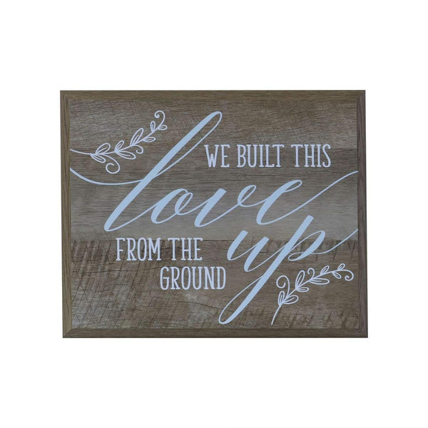 12 x 15 Wall Plaque Decor - We Built This