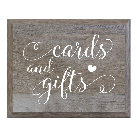 Decorative Cards and Gifts Wedding Party sign (6x8)