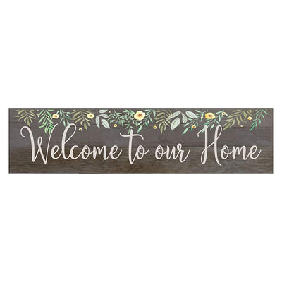 Barnwood Family Home Decoration Welcome Signs