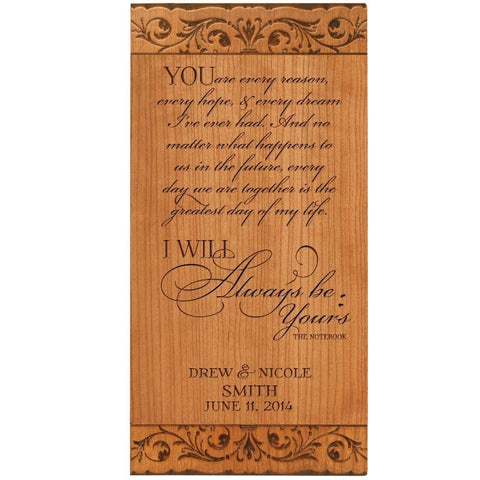 Wedding plaque gift anniversary Wall Plaque wedding gift idea anniversary gift idea for him