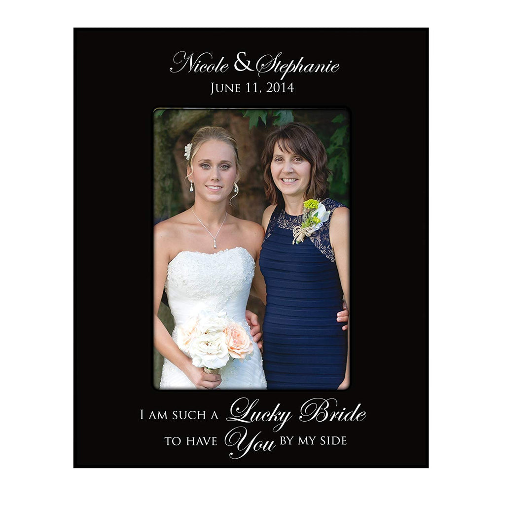 Bridesmaid picture frame Wedding Party Gifts Personalized ...