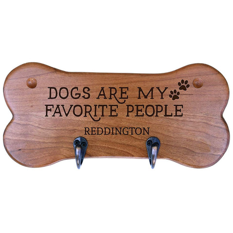 Personalized Dog Bone Storage Racks - Cherry Dogs Are My Favorite People