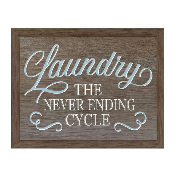 Housewarming Laundry Room Home Wall Decor Plaque