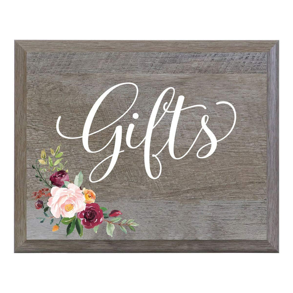Wedding Wooden Party wall sign