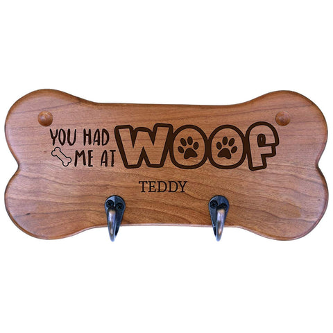 Personalized Dog Bone Storage Racks - Cherry You Had Me At Woof