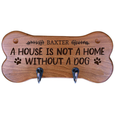 Personalized Dog Bone Storage Racks - Cherry A House Is Not A Home