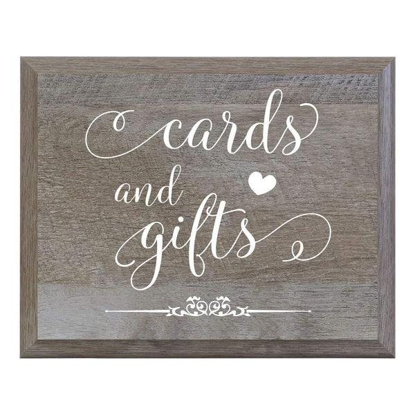 Decorative Wedding Ceremony Party Sign - Cards And Gift