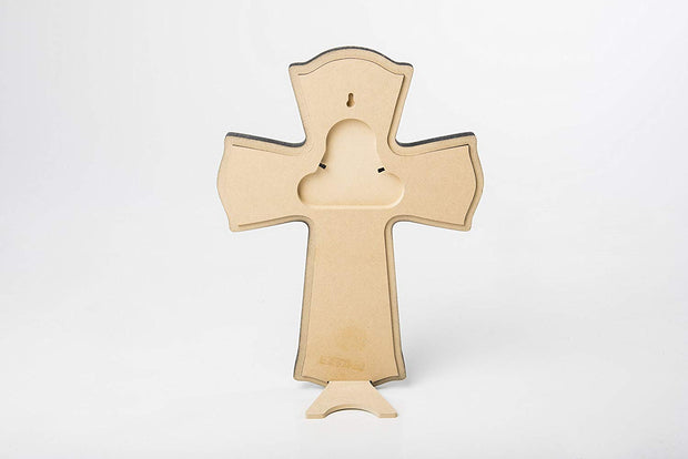 Personalized Baptism Wall Cross for Christening - Numbers 6:24-25
