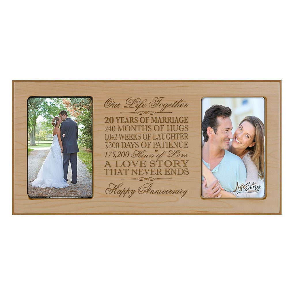 Wedding Anniversary Dates And Gifts: LifeSong Miletones 20th Anniversary Gift 20th Wedding