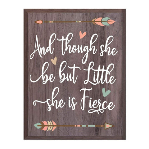 Housewarming Family Wall Hanging Plaque Gift - She Is Fierce