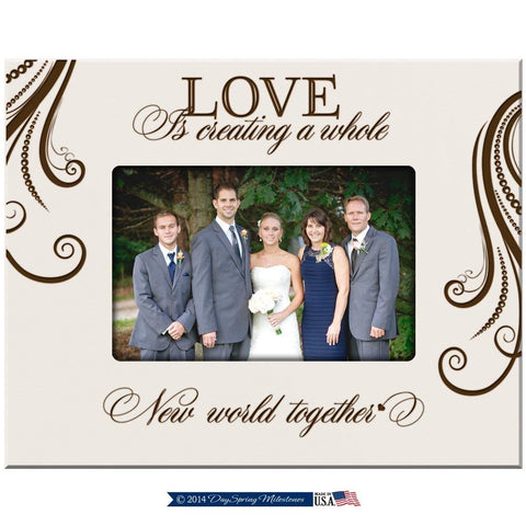 Parent Wedding Picture Frame