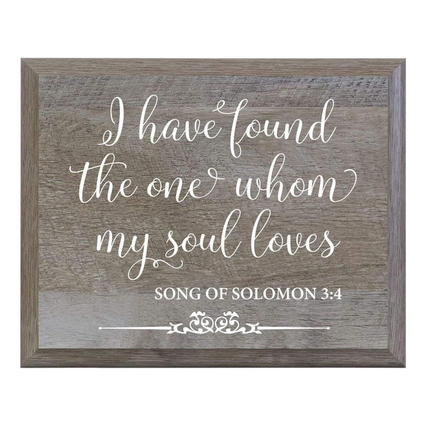 """I Have Found"" Decorative Wedding Signs for Ceremony and Reception"