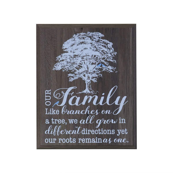 12 x 15 Wall Plaque Decor - Our Family
