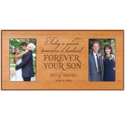 Personalized Parent wedding 2 Photo picture frame gift