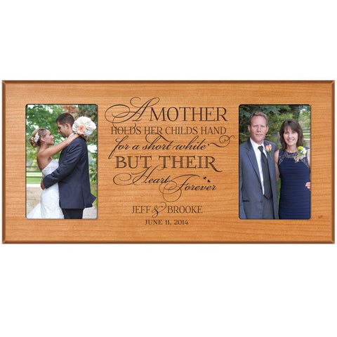 Personalized Wedding 2 Photo Picture Frame Gift Idea