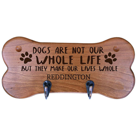 Personalized Dog Bone Storage Racks - Cherry Dogs Are Not Our Whole Life